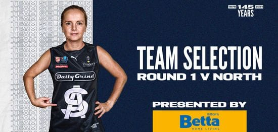 BETTA Team: SANFLW Round 1 vs North Adelaide
